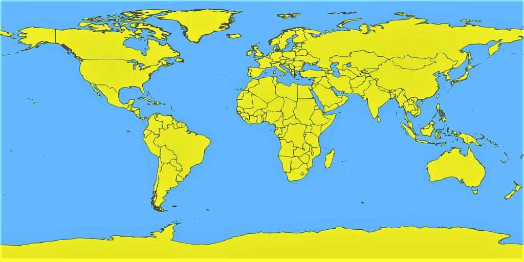 mapa mundi politico mudo sin nombres
